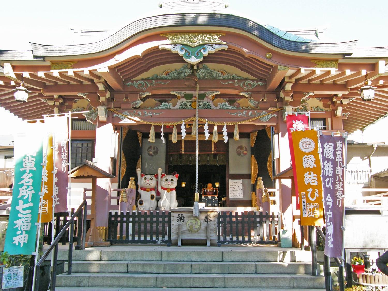 今戸神社/社殿/東京観光/tokyo/tokyodrive