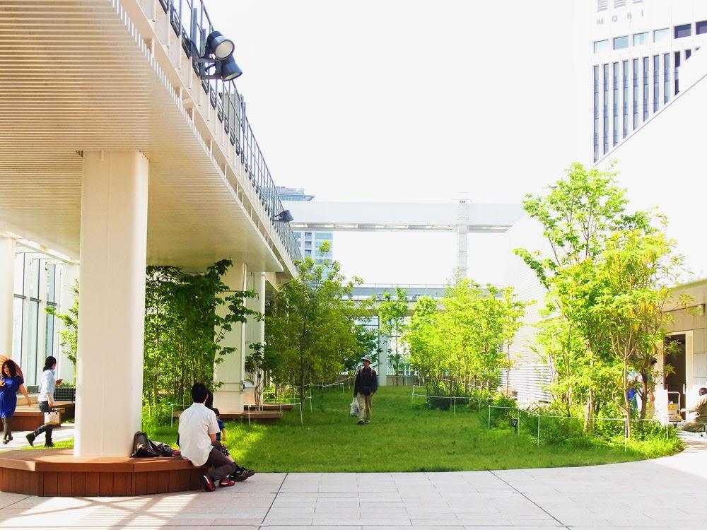 アークヒルズ サウスタワー 屋上庭園 一般開放 ARK Hills south tower rooftop garden/東京観光