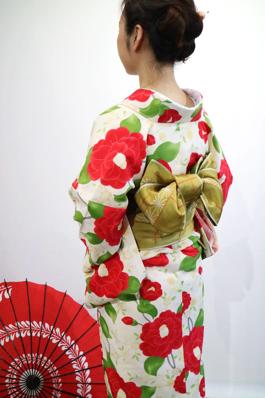 modern kimono笹香