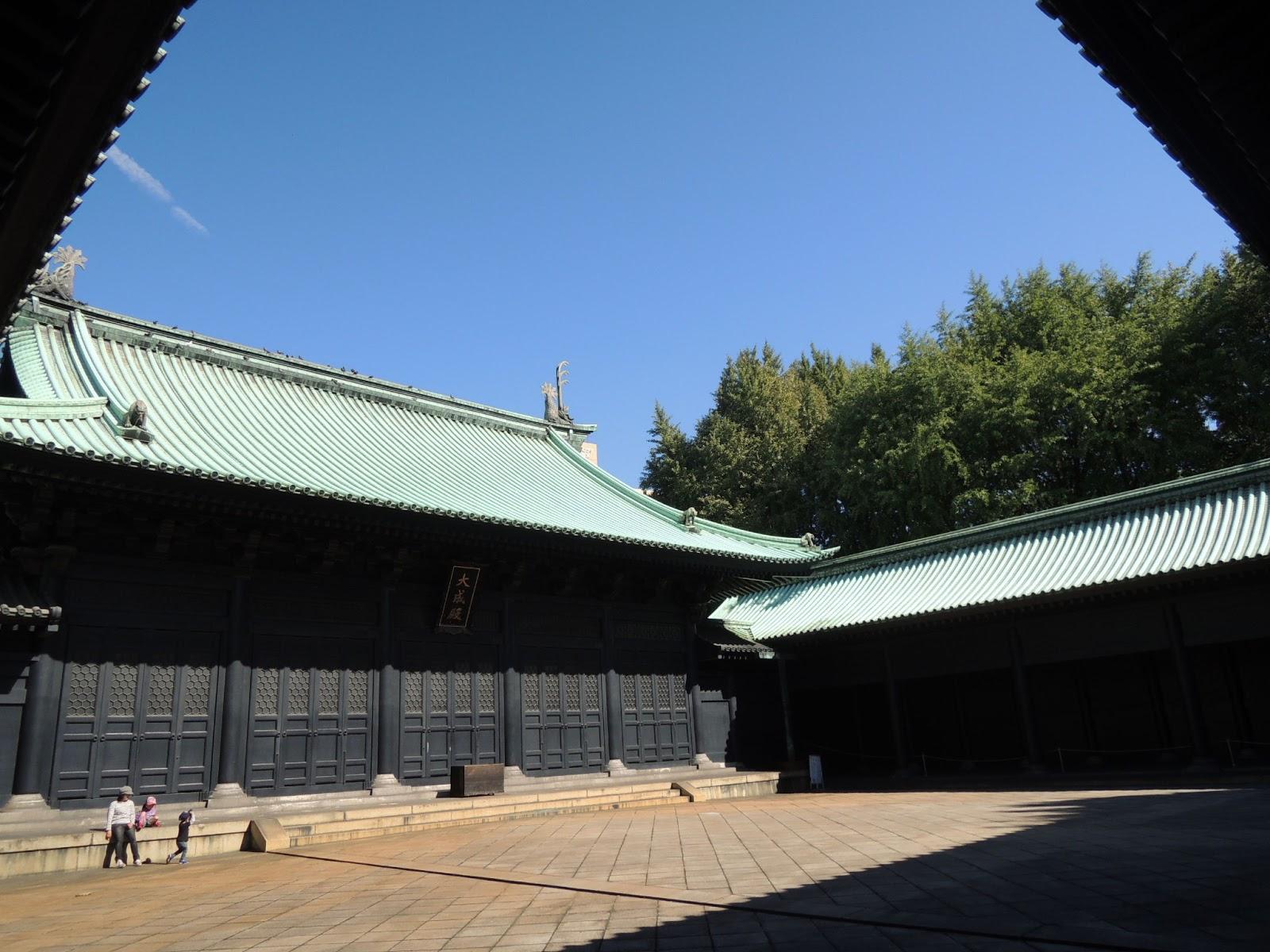 東京観光 湯島聖堂 Yushima Seido Temple