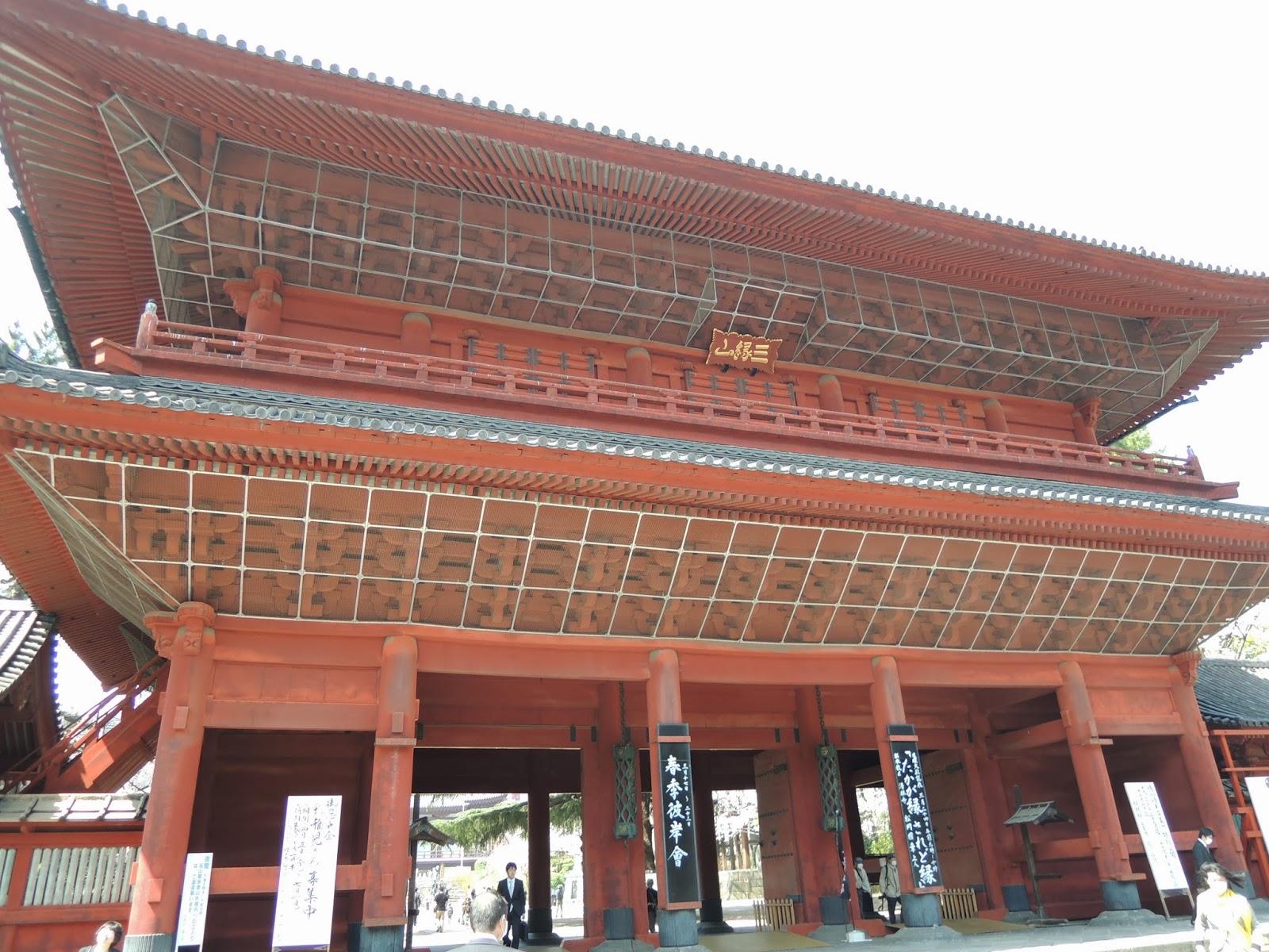 東京観光 芝増上寺 Zojoji Temple